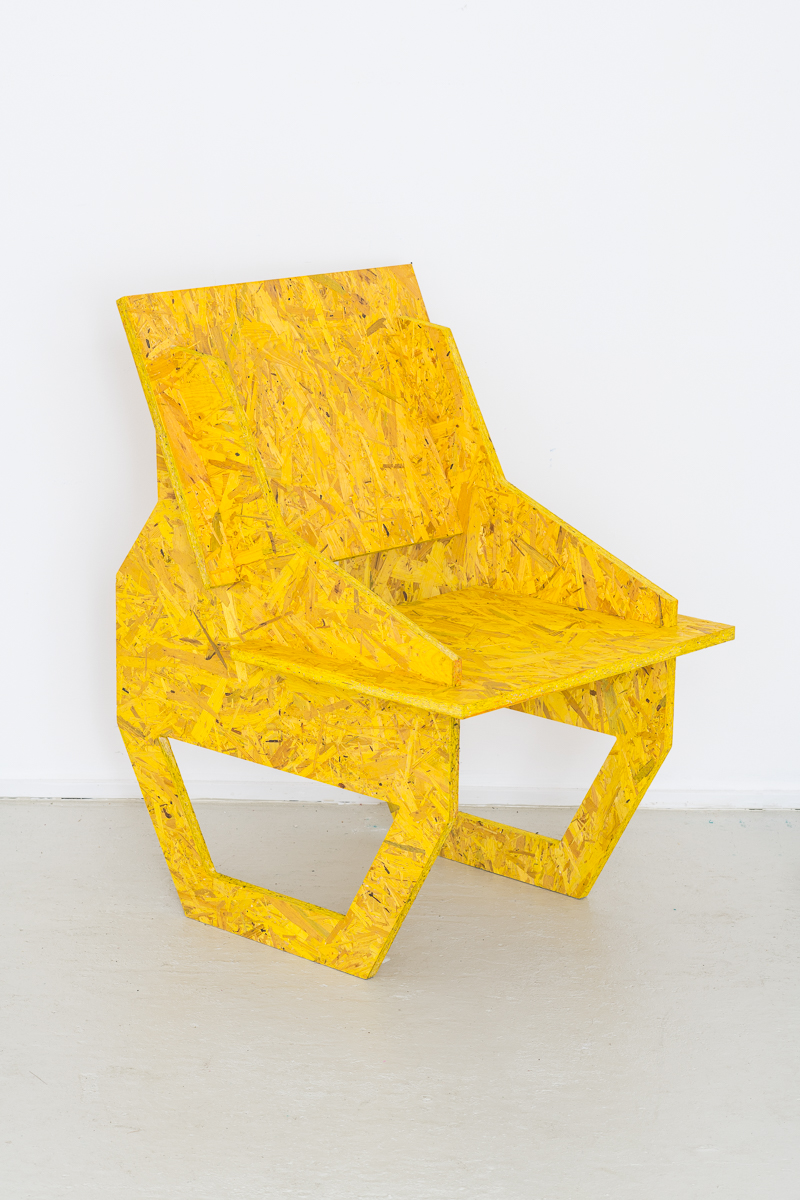 Studio Chair - Yellow