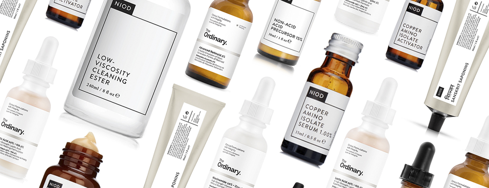 Продукты NIOD и The Ordinary