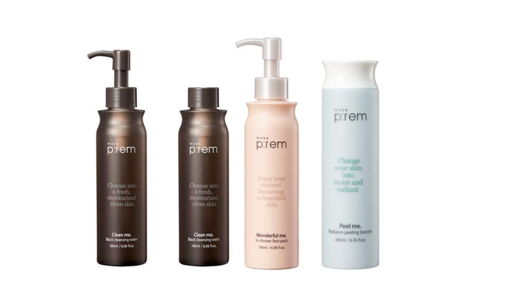 BLACK CLEANSING WATER, IN-SHOWER FACE MASK, RADIANCE PEELING BOOSTER - ВСЕ  MAKE P:REM