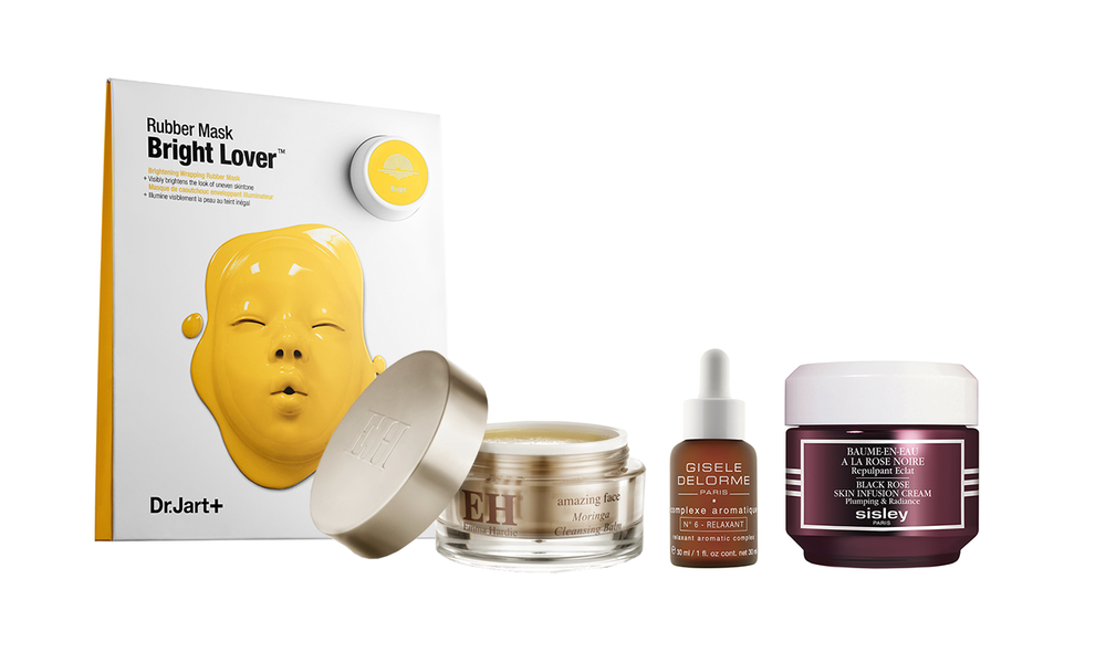 DR JART RUBBER MASK, EMMA HARDIE MORINGA CLEANSING BALM, CULTBEAUTY.CO.UK, ФУНТОВ; АРОМАТИЧЕСКИЙ КОНЦЕНТРАТ GISELE DELORME,   СПРАШИВАЙТЕ В SPA AT HILTON KYIV  SISLEY BLACK ROSE CREAM, BOMOND.COM.UA, 4380 ГРН
