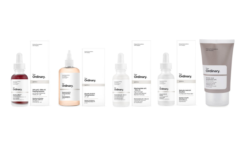 AHA 30% + BHA 2% PEELING SOLUTION,  CULTBEAUTY.CO.UK, 6,30 ФУНТОВ , GLYCOLIC ACID 7% TONING SOLUTION,  CULTBEAUTY.CO.UK, 6,80 ФУНТОВ , NIACINAMIDE 10% + ZINC 1%,  CULTBEAUTY.CO.UK, 5 ФУНТОВ , SALICYLIC ACID 2% SOLUTION,  CULTBEAUTY.CO.UK, 4,20 ФУНТОВ , AZELAIC ACID 10%,  CULTBEAUTY.CO.UK, 5,50 ФУНТОВ