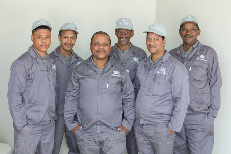 THE LOYAL AND HARDWORKING TEAM FROM WILGENHOF ESTATE