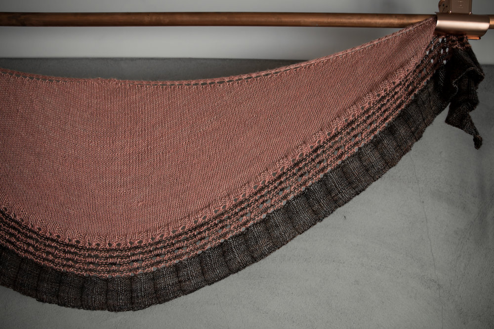 Fireflies Rising Shawl