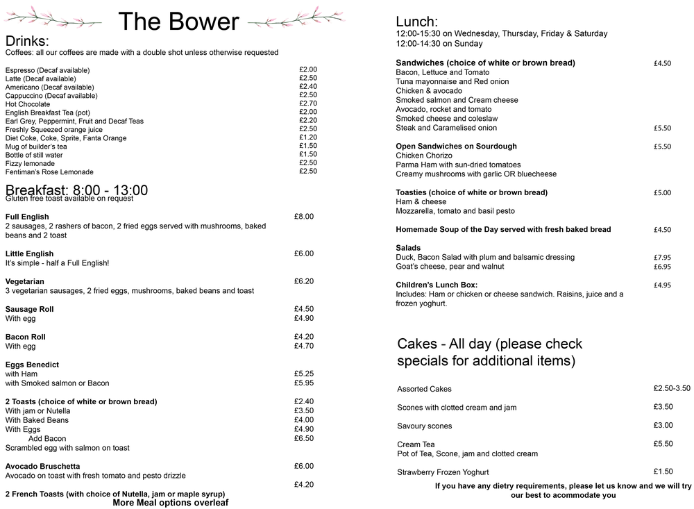 The Bower Menu.png