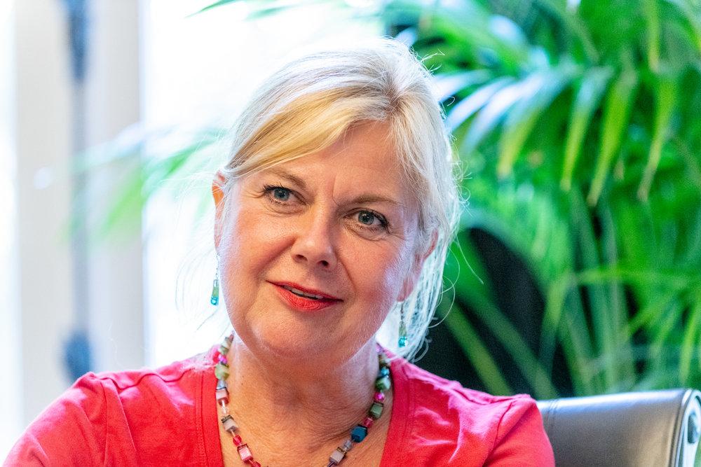 Traiiner Cisca van der Meijs