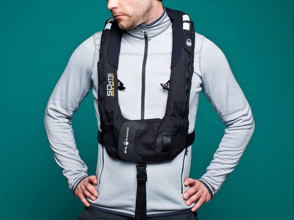 Sailracing Life Vests Lightweight goes heavy-duty