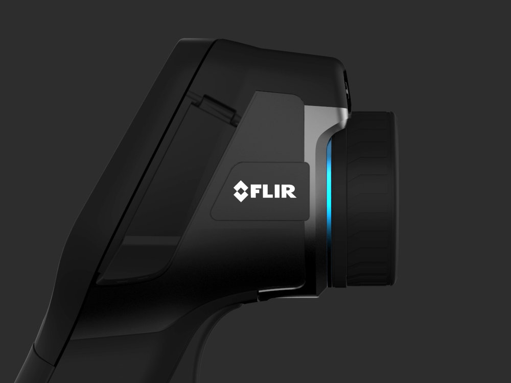 FLIR  Revolutionizing infrared  Industrial design & UX/UI Design