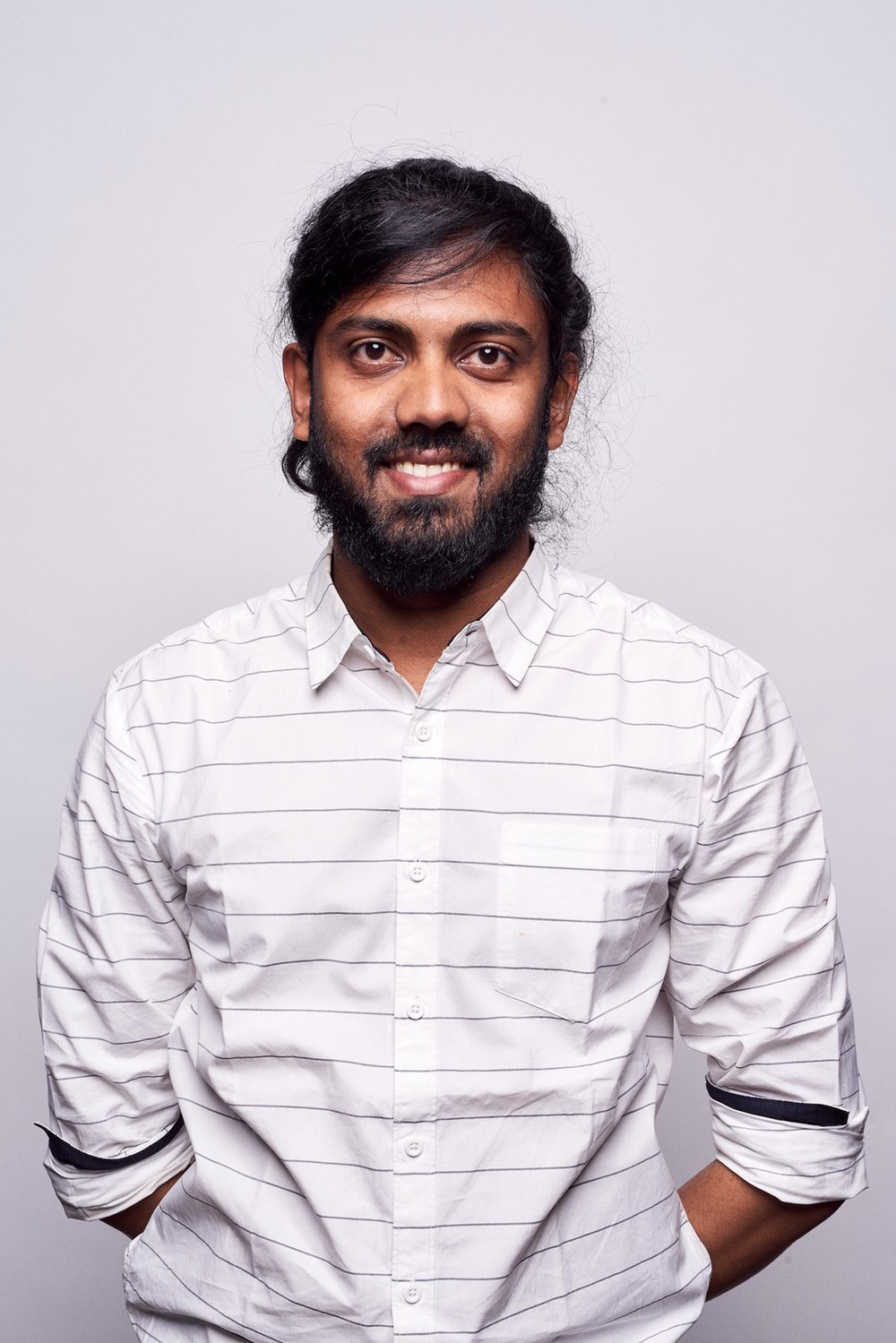 <strong>Arvind Sanjeev</strong><br> Design Technologist<br> arvind@above.se
