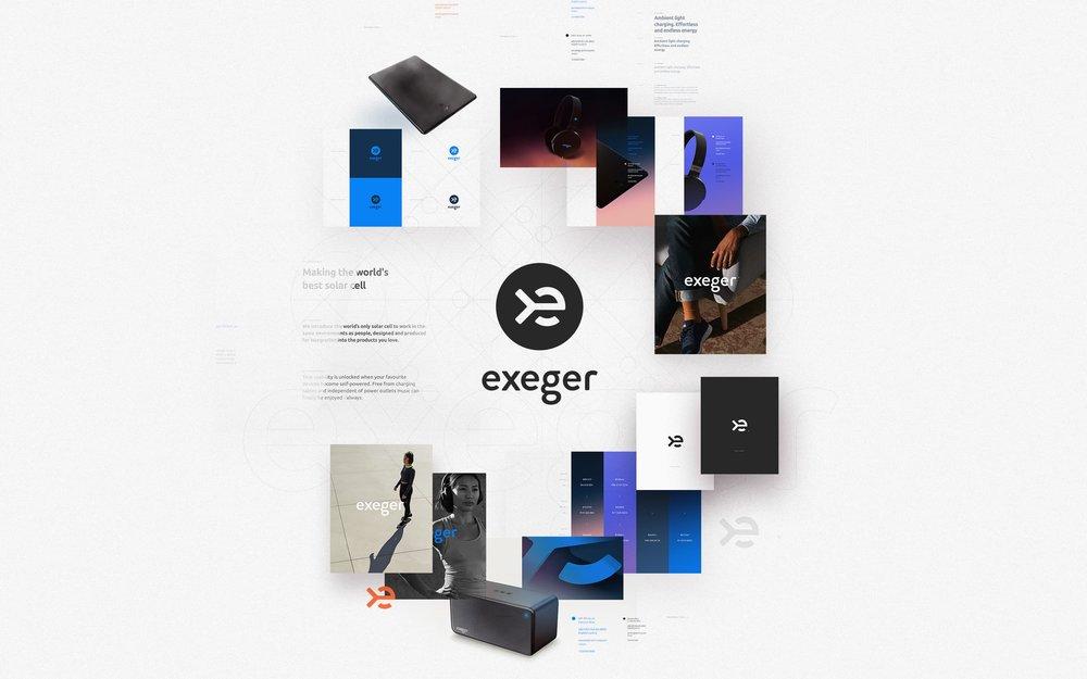 Exeger Brand Montage