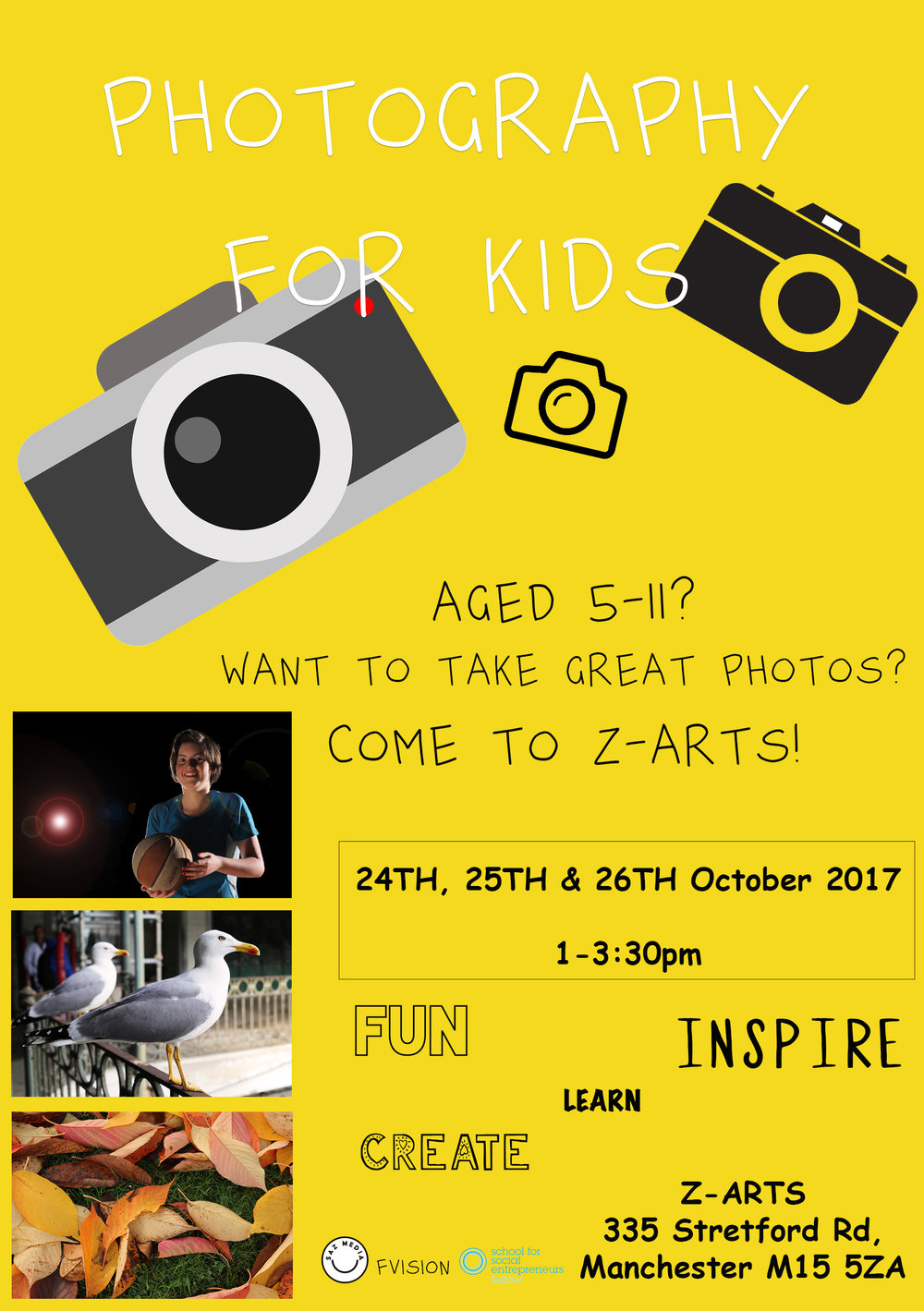 SAZ MEDIA PHOTOGRAPHY CLASSES AT ZARTS