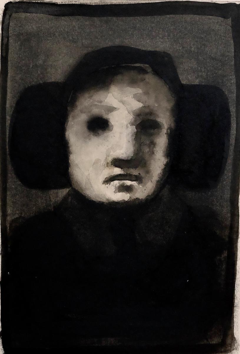 mann, 35x25 cm, ink/paper, 2016