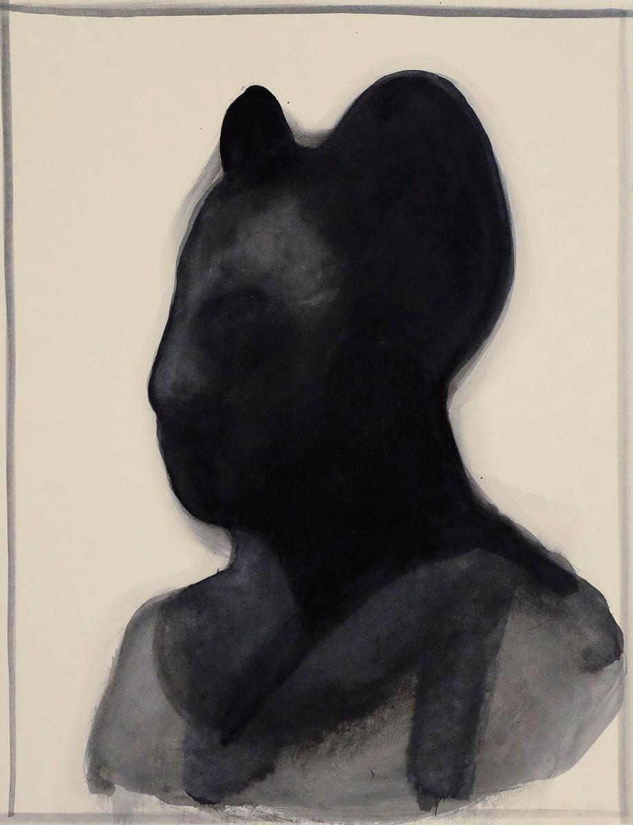 Der Mausmann, ink/paper, 35x25 cm, 2016
