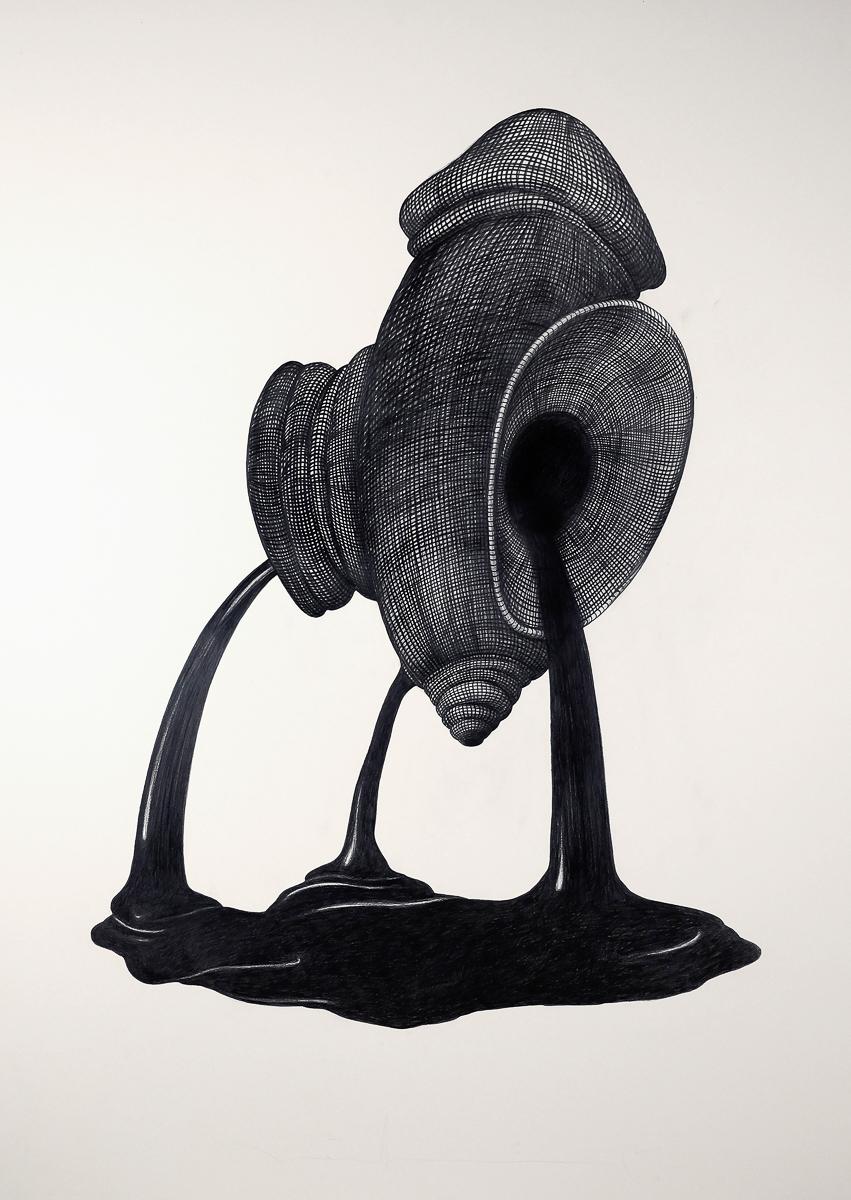 G1: graphite/paper, 160 x 120 cm, 2011