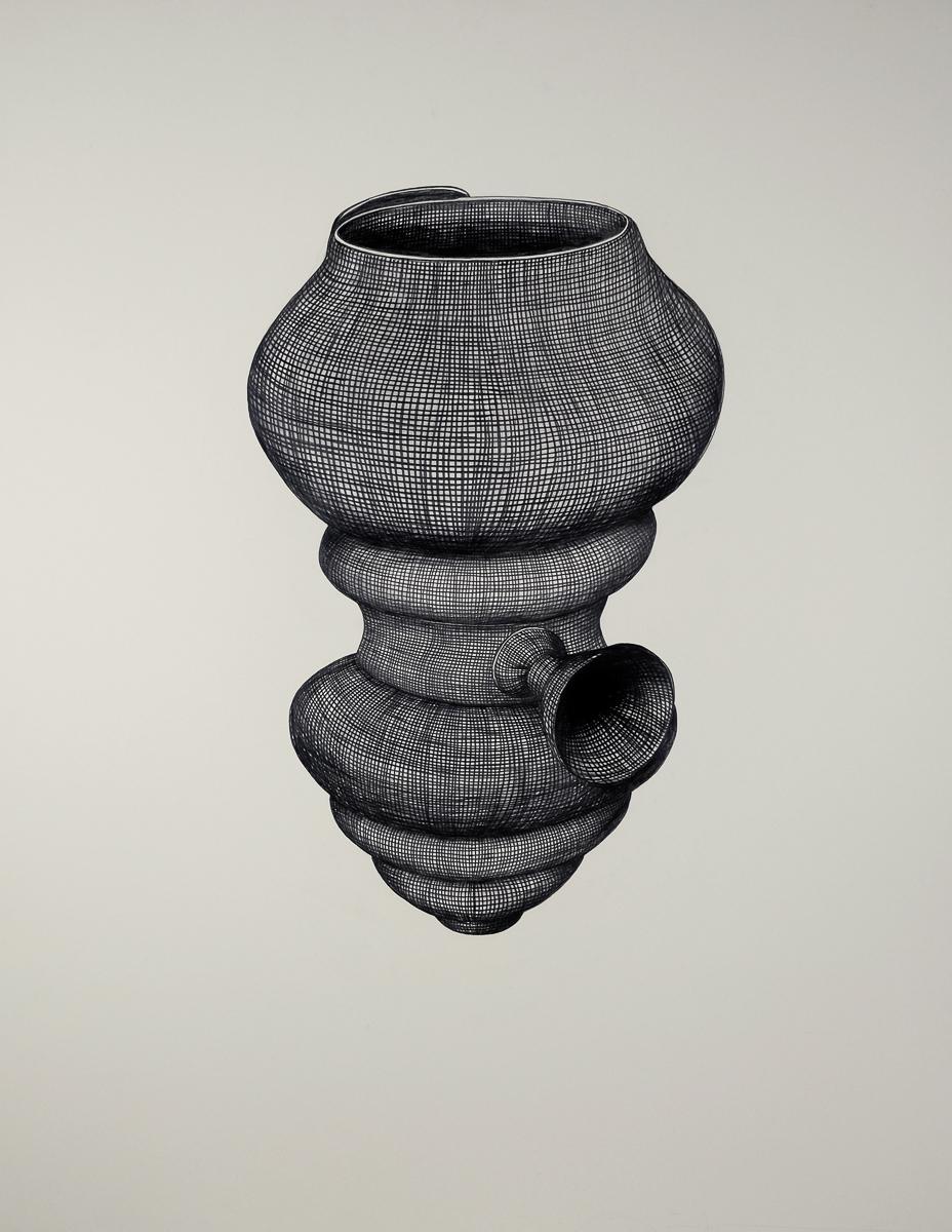 G2: graphite/paper, 160 x 120 cm, 2011