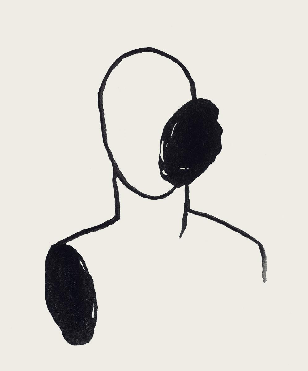 e1: ink/paper, 35 x 25 cm, 2006