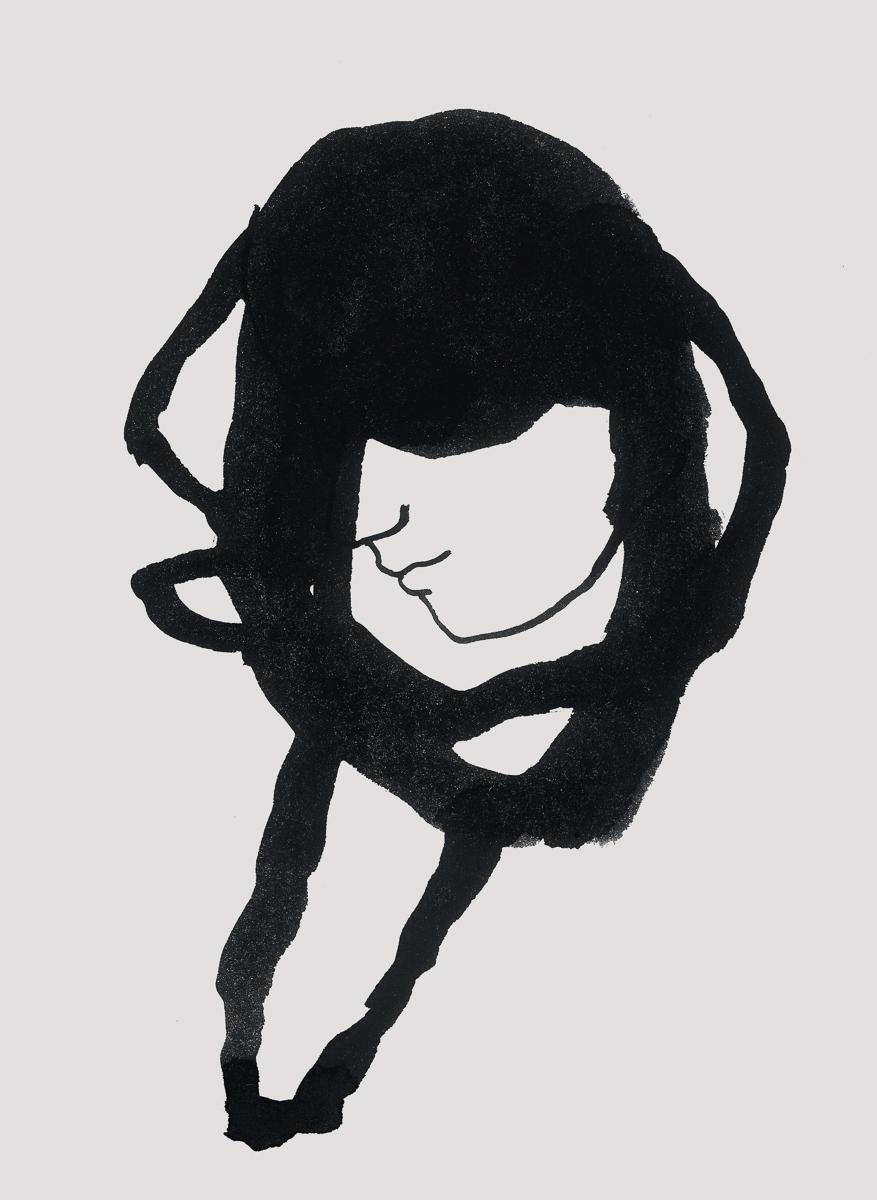 e2: ink/paper, 35 x 25 cm, 2006