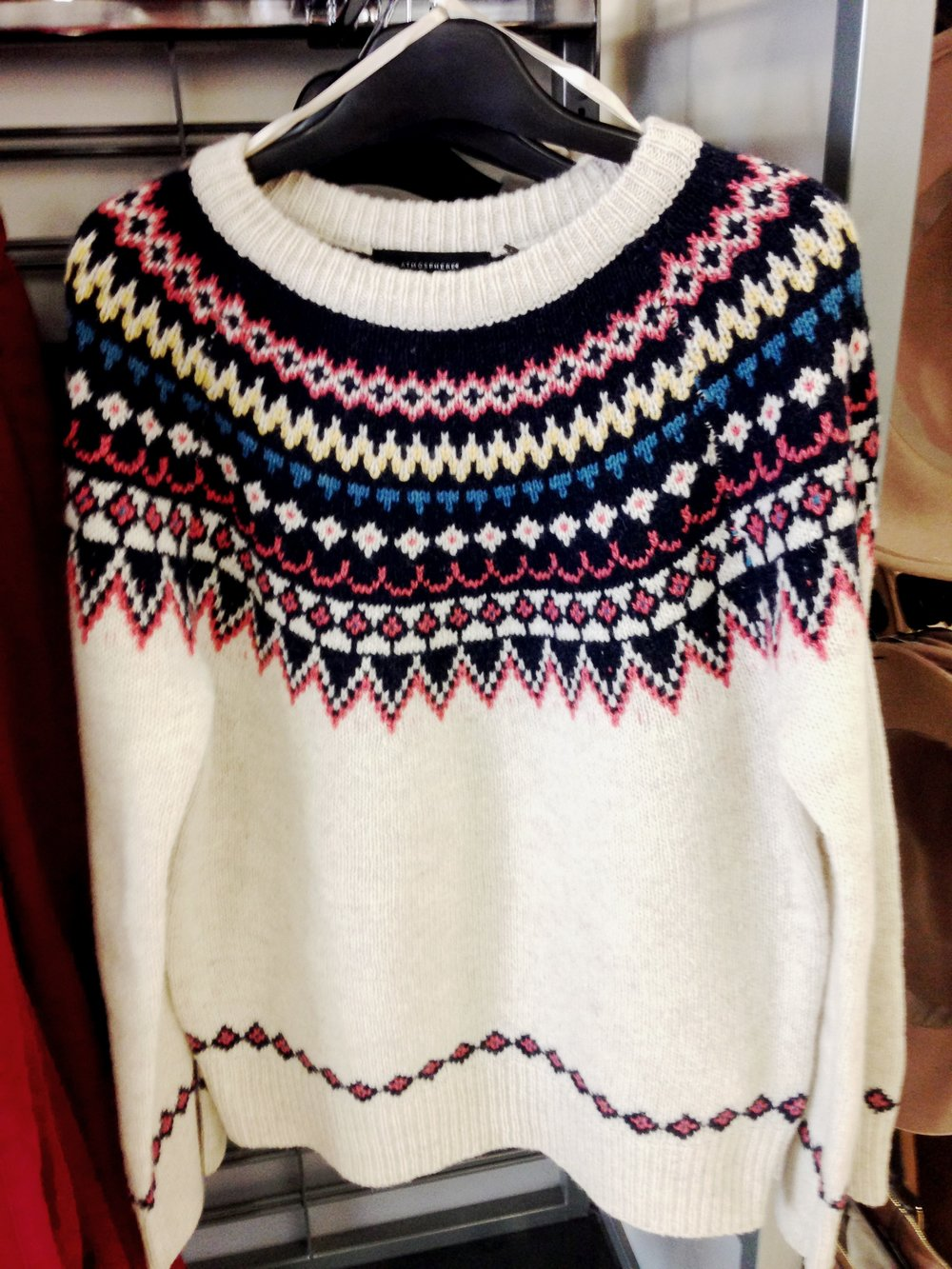 Penneys traditional style sweater. Great value at €18. Also available in navy.