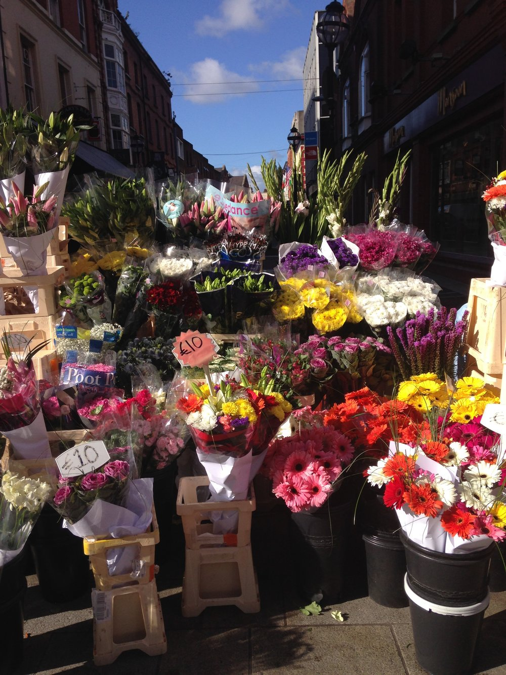 Colour Glorious Colour on Grafton St today! Love love love! xxxx