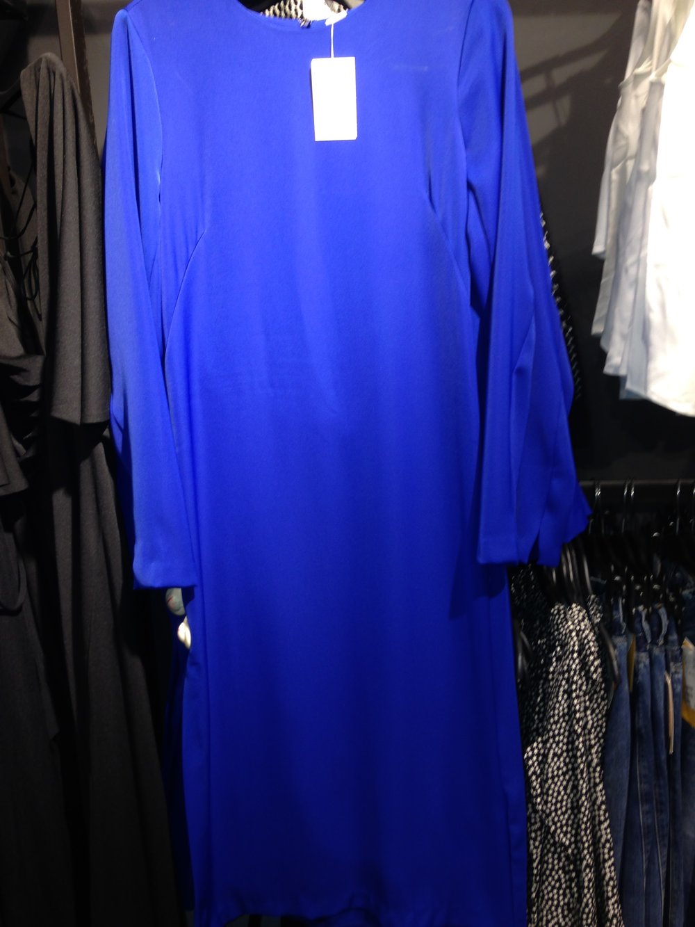 Gorgeous Royal Blue tunic dress.H&M . €59.99