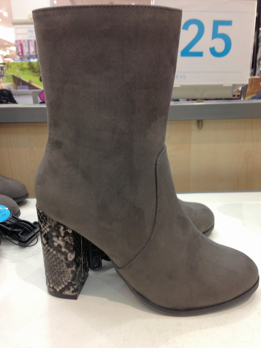 Pennys grey boot