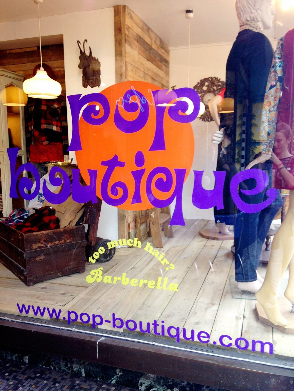 Pop Boutique, Manchester.