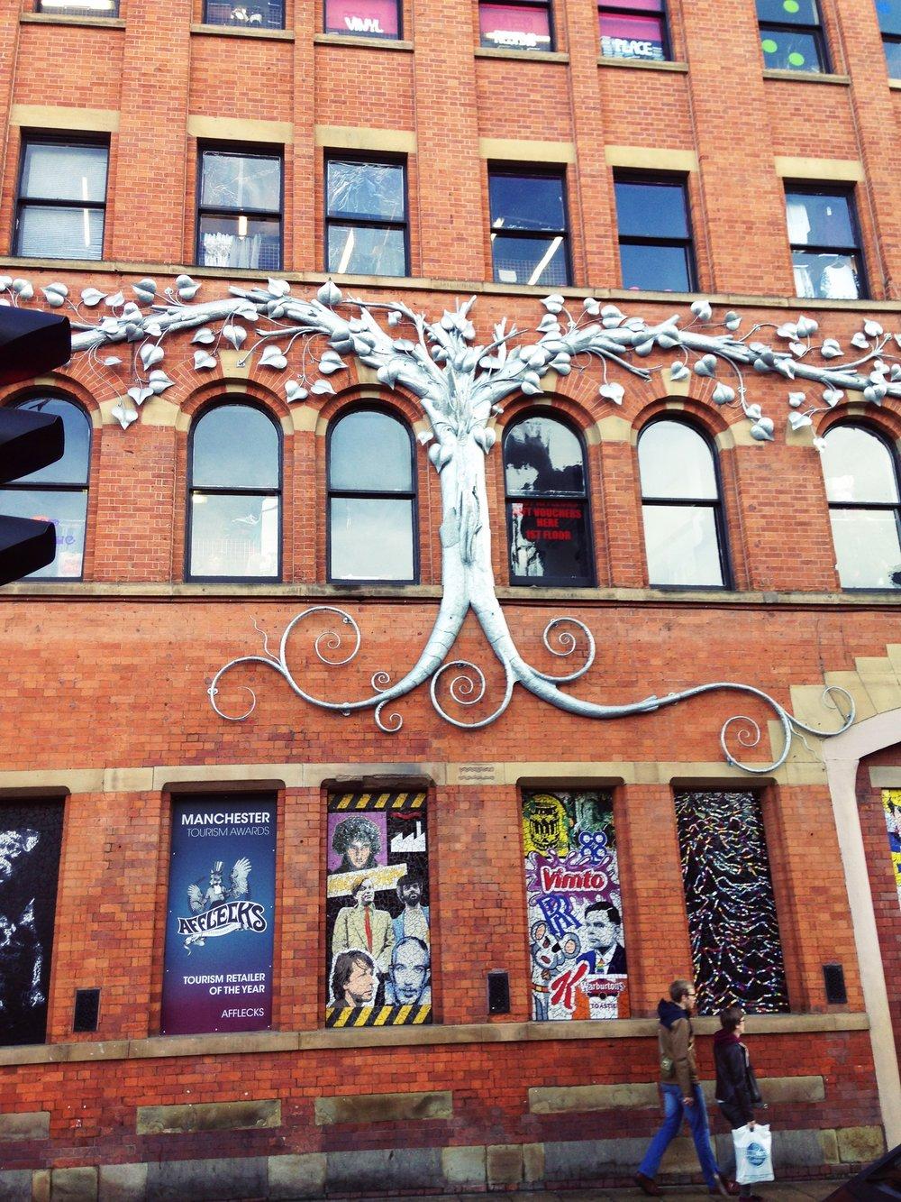 Afflecks Vintage emporium Manchester