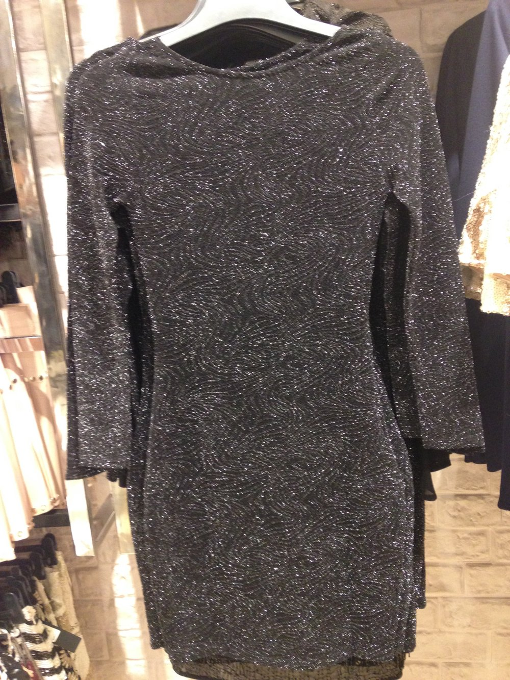 River Island! Body con dress. Perfect for a modern goth! €55