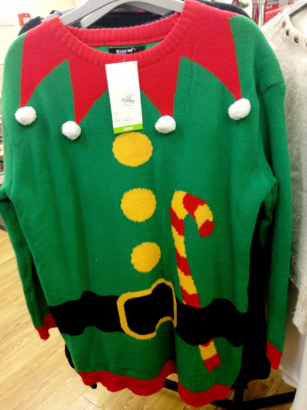 Another cheerful style from Oxfam! €6.00