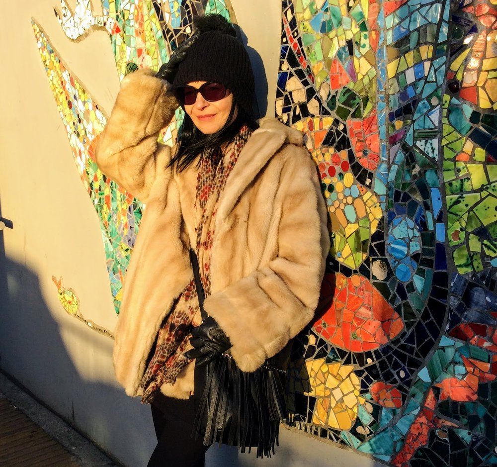 Get ready for the WInter Faux Fur BIG CHILL!