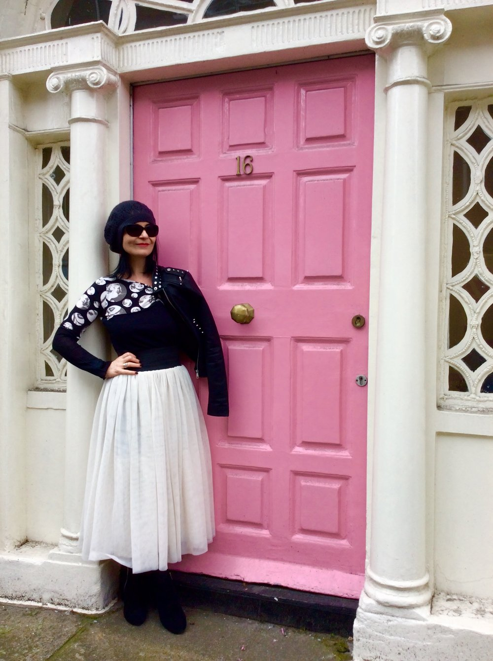 This look completely thrifted from a charity Shop!