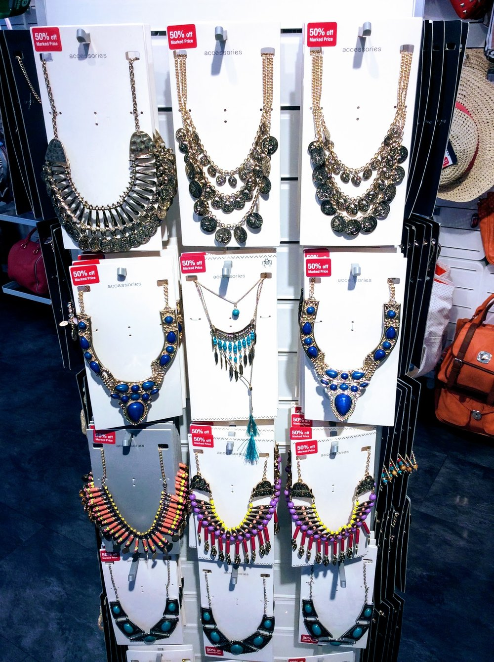 Great neckpieces from SIX4GOOD.