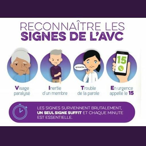 Journée européenne de #prévention des accidents vasculaires cérébraux #AVC : reconnaitre les signes et prévenir les secours. . . . . #premierssecours #sauverdesvies #firstaid #cerveau #urgence #signes #risques #prévention #secours #samu #secourisme #formation  #Europe