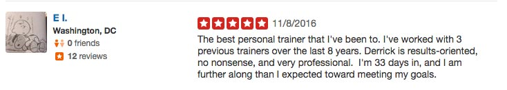 Personal Trainer Review #4
