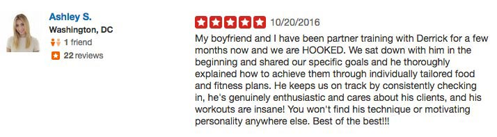 Personal Trainer Review #9