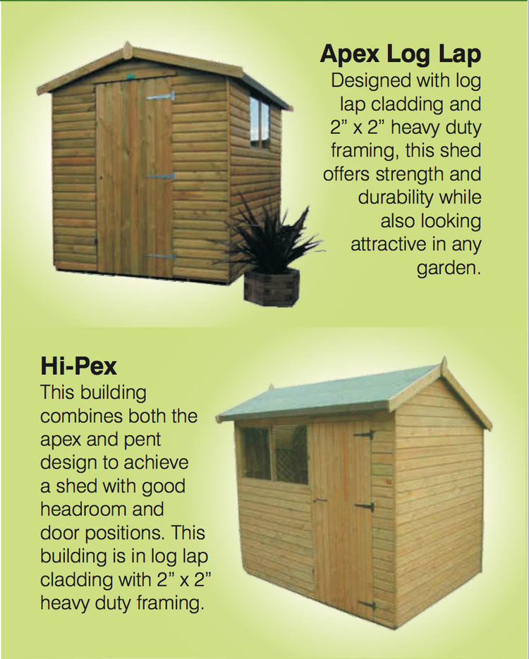 garden sheds 3jpg - Garden Sheds York Area