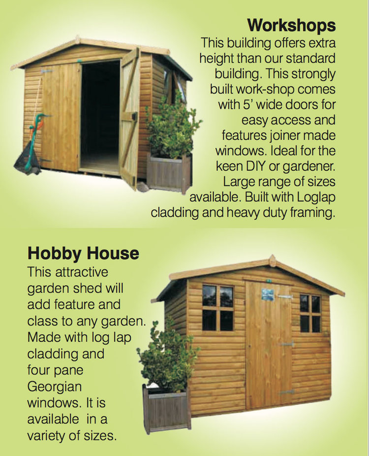 Garden Sheds Leeds York Timber Products
