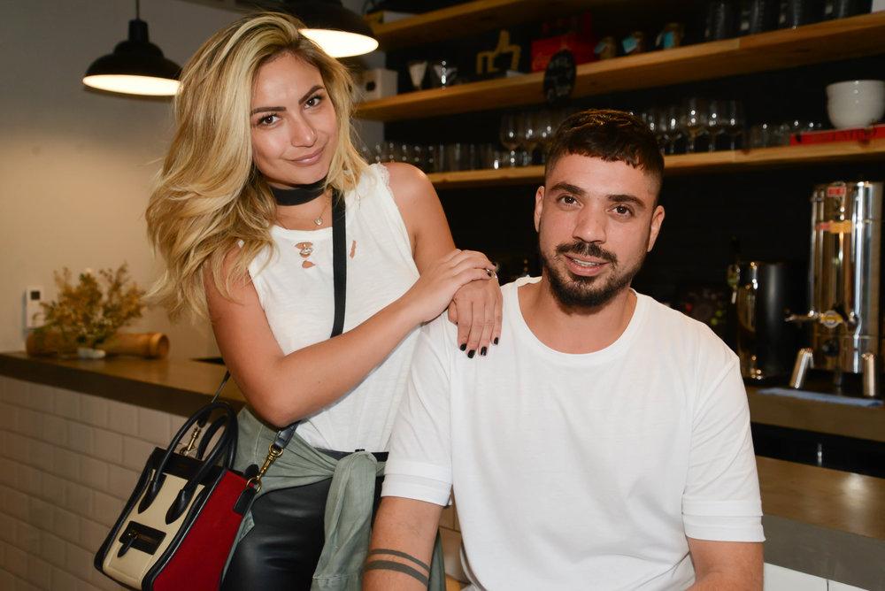 Kelly Correa e Fil Freitas