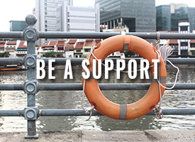 Be A Support