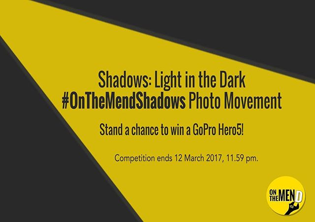 "Last few day before the ""Shadows: Light in the Dark"" photo movement comes to an end! . Check out #OnTheMendShadows on Instagram for more inspiration."