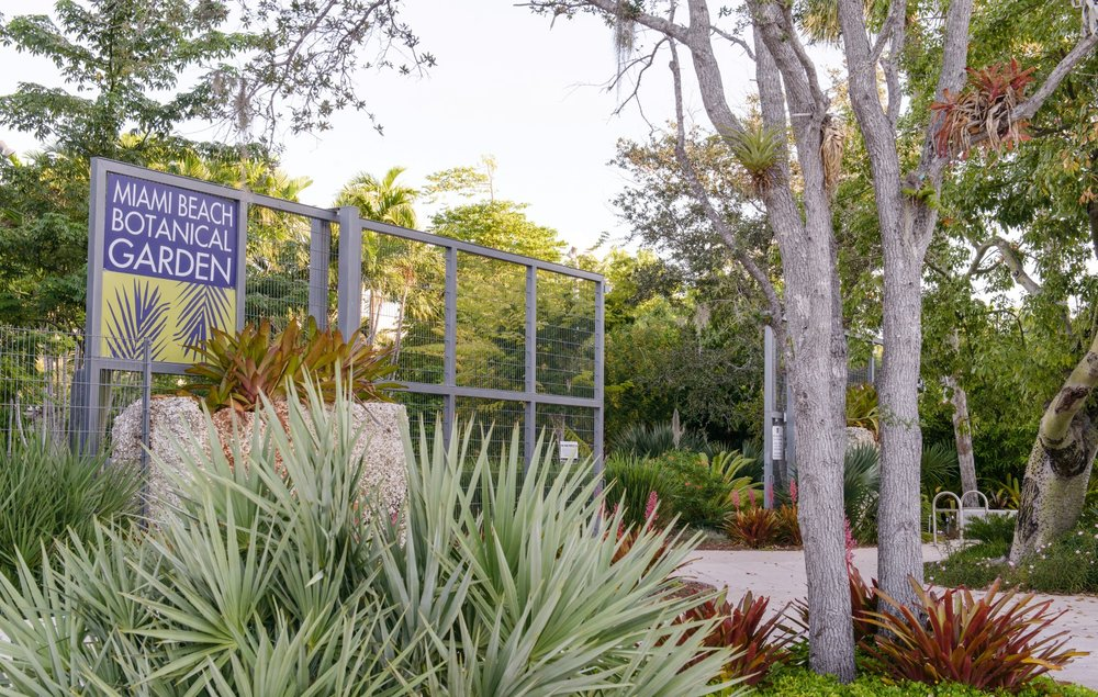 Miami beach botanical garden -