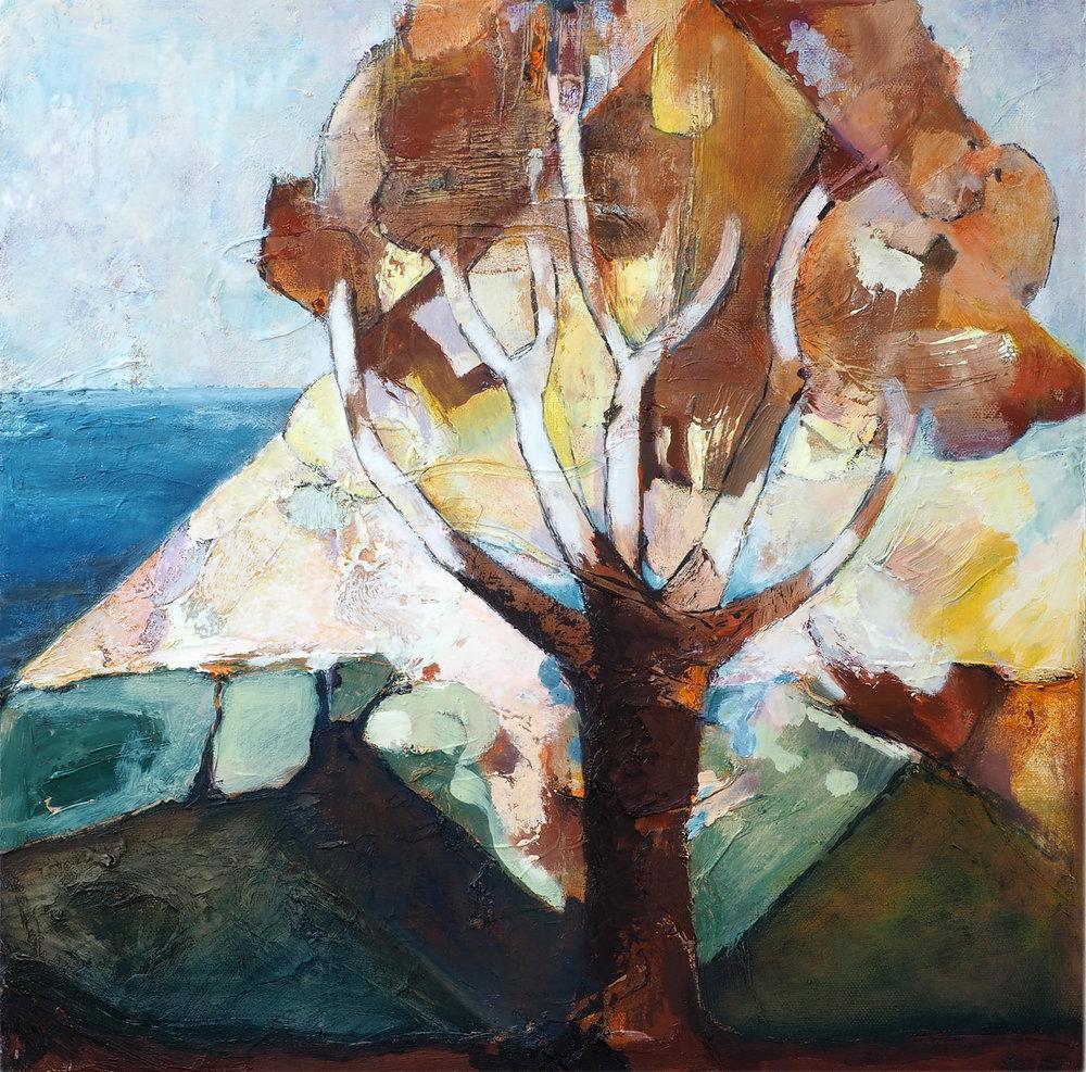 Sugar Loaf Tree Oil on canvas,40cm x 40cm,€450