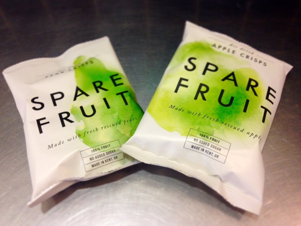 Spare Fruit apple and pear chips.