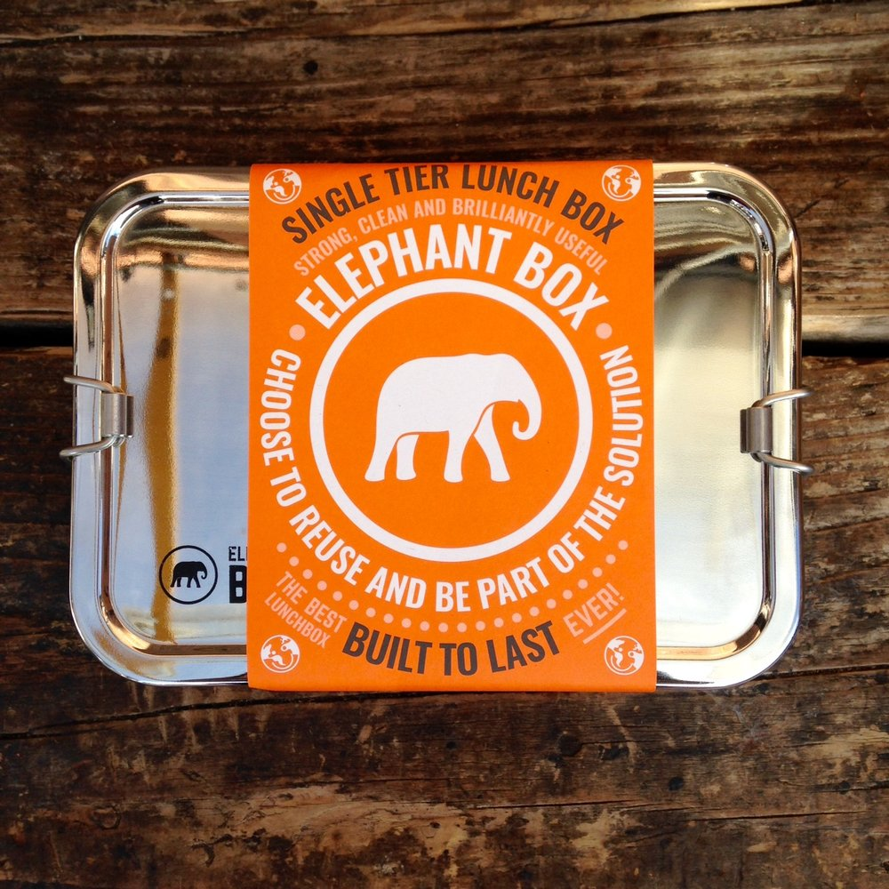 Elephant Box stainless steel lunchbox