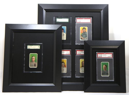 as an old cardboard collector i have been searching for a long time for a stylish and affordable way to display my tobacco card collection rather than have - Display Frame