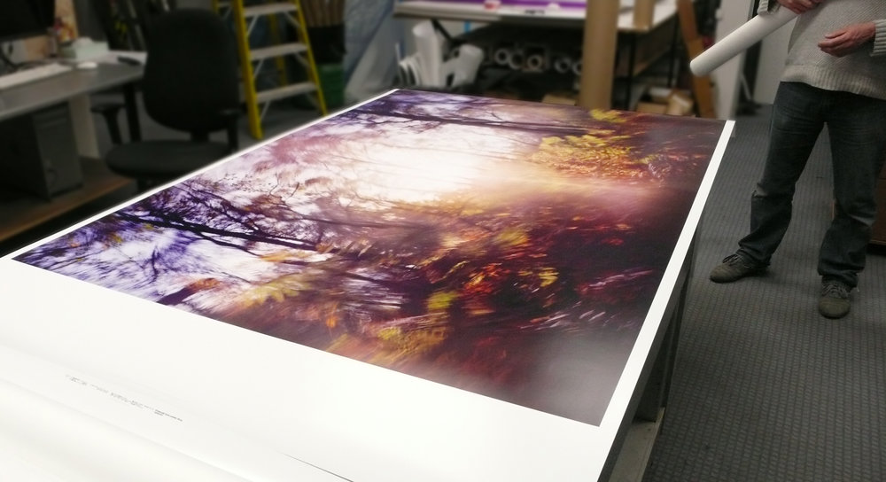 Lambda print - just off the printer