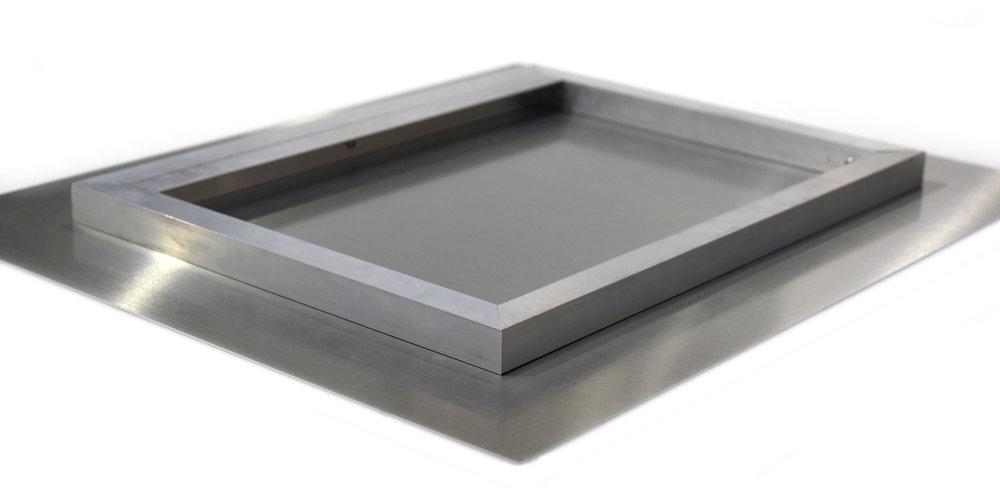 aluminium mounting process...