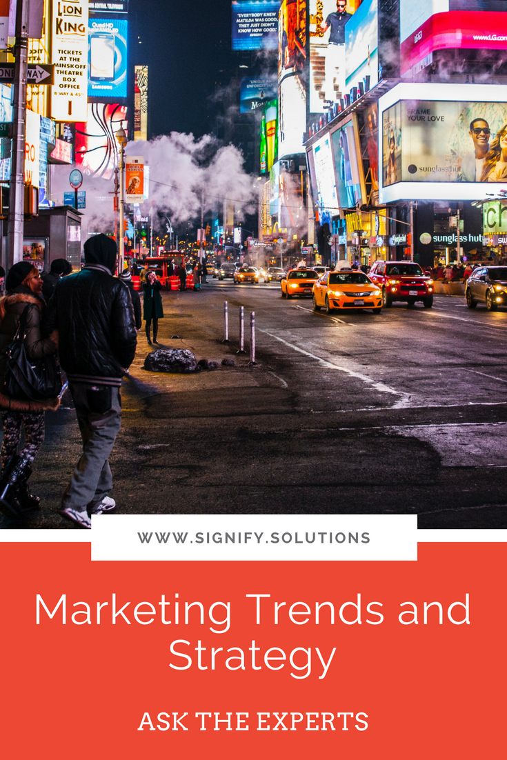 Marketing Trends and Strategy for Small Businesses
