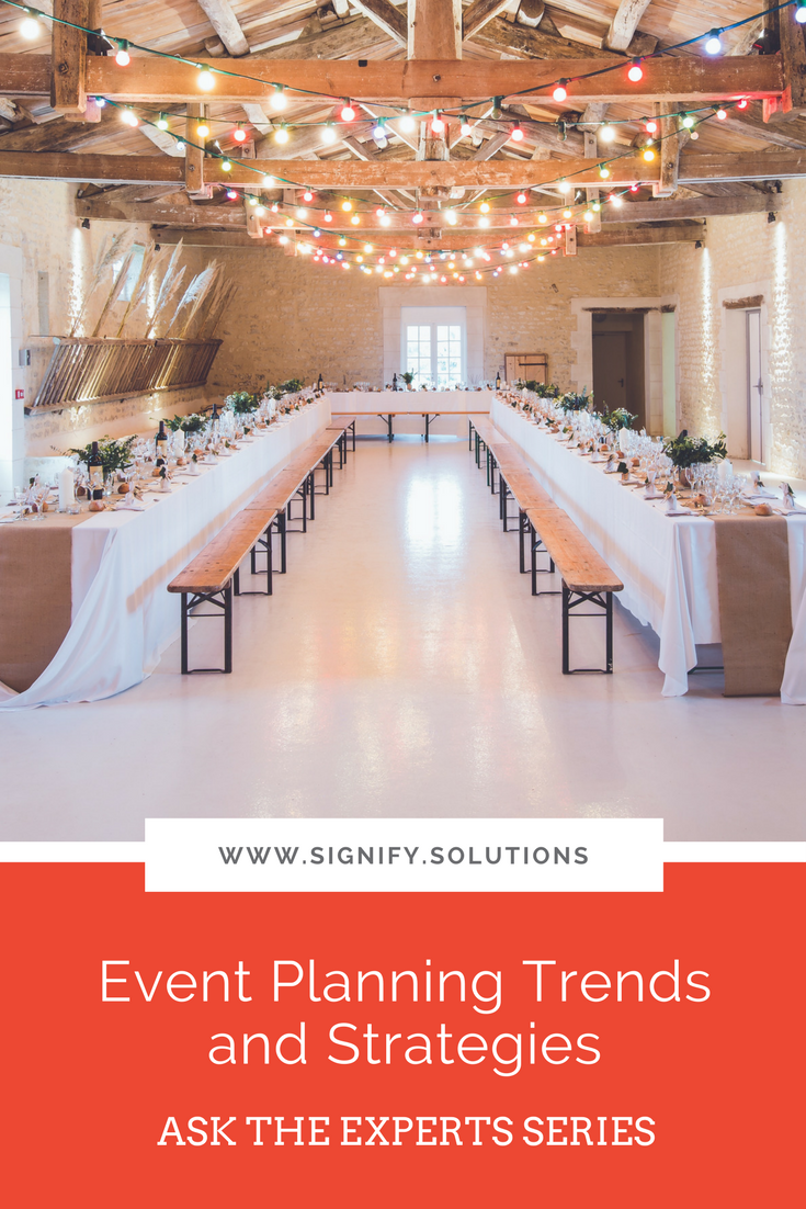 Event planning for nonprofits and social enterprises