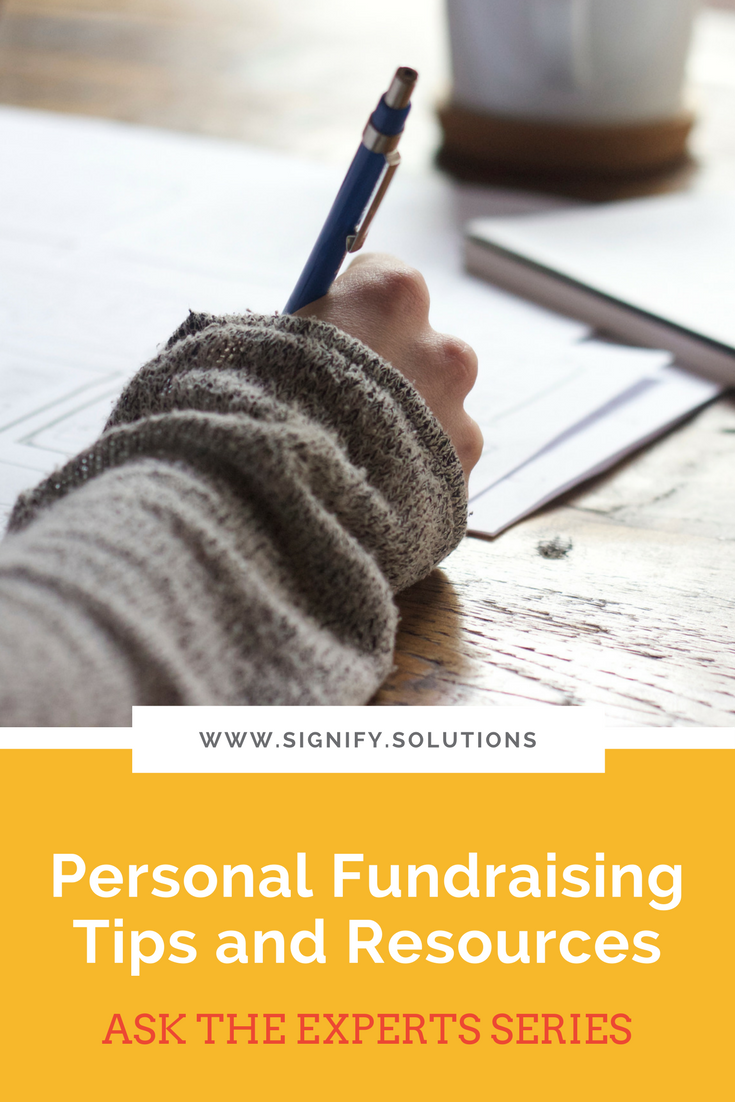 Raising personal support for your nonprofit? Here are some trips and resources from a pro that will have you increasing your efforts and support this week!
