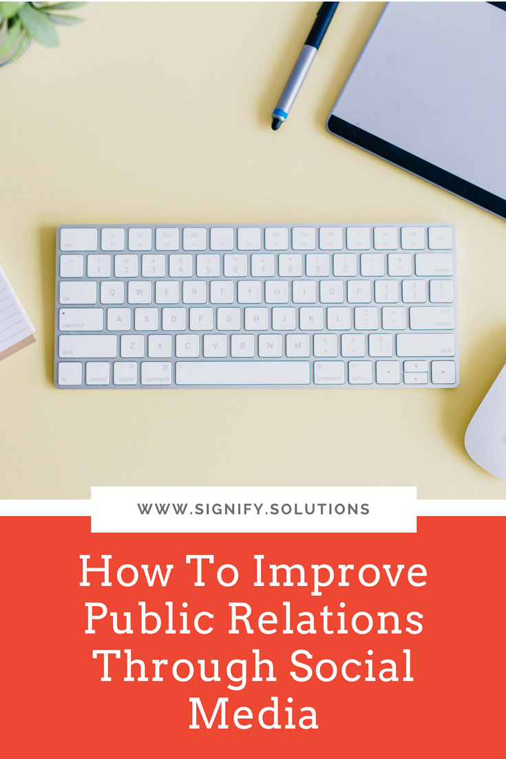 How To Improve Public Relations Through Social Media